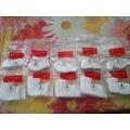 комплект удължители бели за нокти с прагче 500 броя