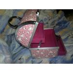 чанта,кутия за принадлежности,за маникюр розова
