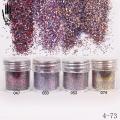 брокат блестящ за декорация на нокти маникюр 10ml ,4-73 -- 047,050,053,074