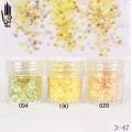 брокат блестящ за декорация на нокти маникюр люспи хексагон 10ml ,3-47 -- 028,094,190
