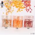 брокат блестящ за декорация на нокти маникюр люспи хексагон 10ml ,3-50 -- 085,136,169