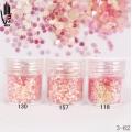 брокат блестящ за декорация на нокти маникюр люспи хексагон 10ml ,3-62 -- 118,130,157
