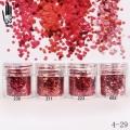 брокат блестящ за декорация на нокти маникюр люспи хексагон 10ml ,4-29