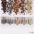 брокат блестящ за декорация на нокти маникюр люспи хексагон 10ml ,5-65 -- 055,058,067,070,172
