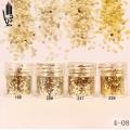брокат блестящ за декорация на нокти маникюр люспи хексагон 10ml ,4-08 -- 199,247,256,286