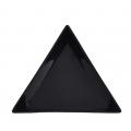 кутийка за кристали, триъгълна черна