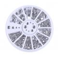 кристални кръгли камъчета за декорация 07F9 - 12409