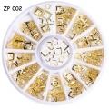 златни пръстени 12 форми ZP002