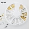 златни и сребърни пръстени 12 форми ZP009