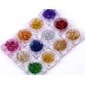 комплект декорации цветни парчета фолио 12бр