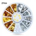 3d декорация звезди и сърце в сиво и златно ZP066
