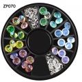 опал-кристални камъчета за декорация - диамант zp070