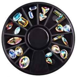 опал-кристални камъчета за декорация - микс MJ50905