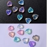 опал-кристални камъчета за декорация - сърце zp068