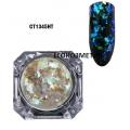 Irregular Transparent Gradient Chameleon Ultra thin Glitter CT1345HT