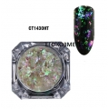 Irregular Transparent Gradient Chameleon Ultra thin Glitter CT1430HT
