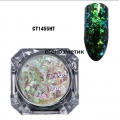 Irregular Transparent Gradient Chameleon Ultra thin Glitter CT1455HT