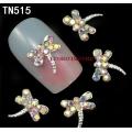 3D декорация за нокът сребърно водно конче TN515
