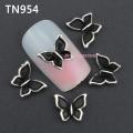 3D декорация за нокът черна пеперуда TN954