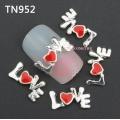 3D декорация за нокът love TN952