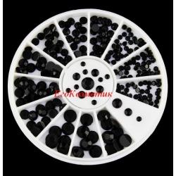 черни камъчета за декорация ZP053