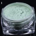 пигмент флуорисцентен ефект - зелена серия - 01