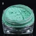 пигмент флуорисцентен ефект - зелена серия - 05