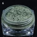 пигмент флуорисцентен ефект - зелена серия - 06