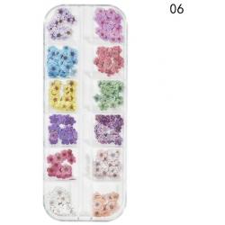 240 бр Имитации на Цветя за Декорация на Маникюр Модел6