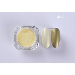 пигментен прах за перлено-огледален ефект 017