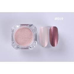 пигментен прах за перлено-огледален ефект 019