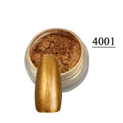 пигментен прах за хром-огледален ефект 4001 + апликатор
