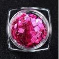 3D конфети с лазерен блясък на ноктите пайети акрилни холографски люспи H1152