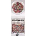 3D мини перлички за декорация на маникюр 10ml - 351
