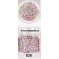 3D мини перлички за декорация на маникюр 10ml - 636