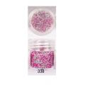 3D мини перлички за декорация на маникюр 10ml - 338