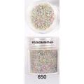 3D мини перлички за декорация на маникюр 10ml - 650