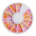 палитра перлички жълти и розови