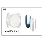 пигментен прах за хром-огледален ефект RON5082-01 + апликатор