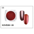 пигментен прах за хром-огледален ефект RON5082-08 + апликатор