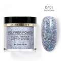 BORN PRETTY 10ml дипинг пудра DP01 snow elwes