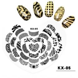 диск за маникюр, декорация KX-05