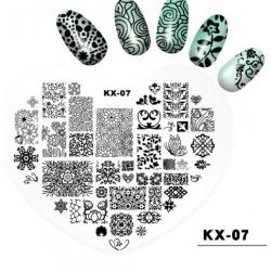 диск за маникюр, декорация KX-07