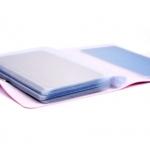 калъф органайзер за диск шаблон 10-14,5см - розов