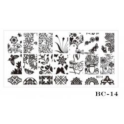 диск шаблон голям BC 14