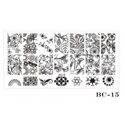 диск шаблон голям BC 15