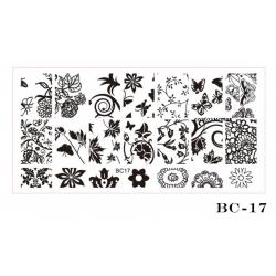 диск шаблон голям BC 17