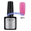 Elite99 10ml UV гел лак 3 в 1 - 6011	Hotpink