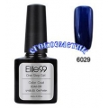 Elite99 10ml UV гел лак 3 в 1 - 6029	Dark Cerulean