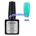 Elite99 10ml UV гел лак 3 в 1 - 6032	Aquamarine